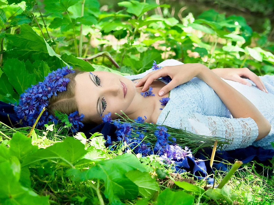 Фото девушек в неземной красоты