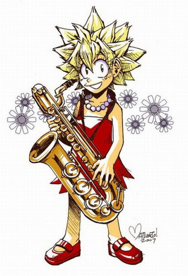 картинки лиза взрослая на саксофоне выбранная
