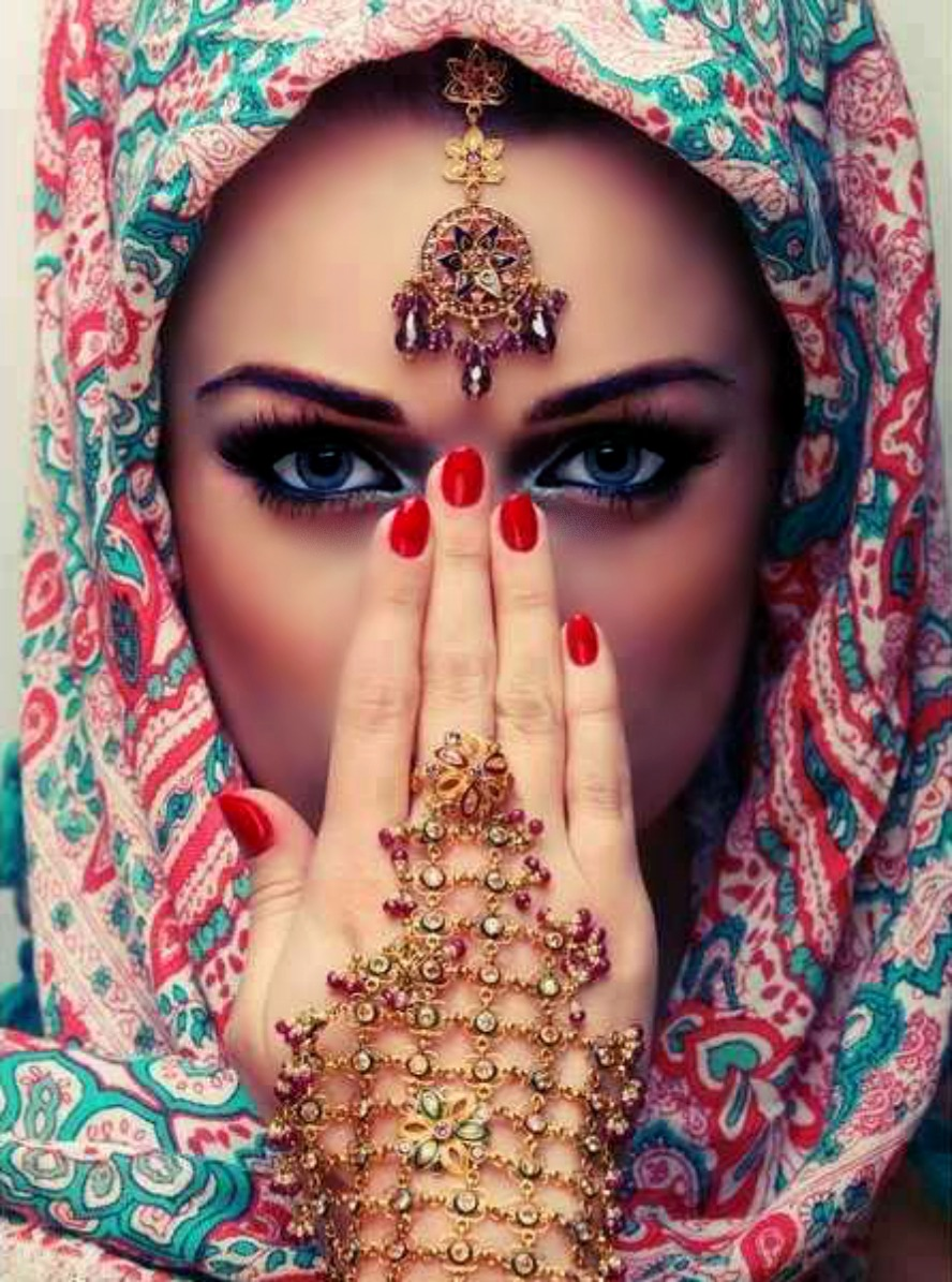Фото восточных красавиц на аву