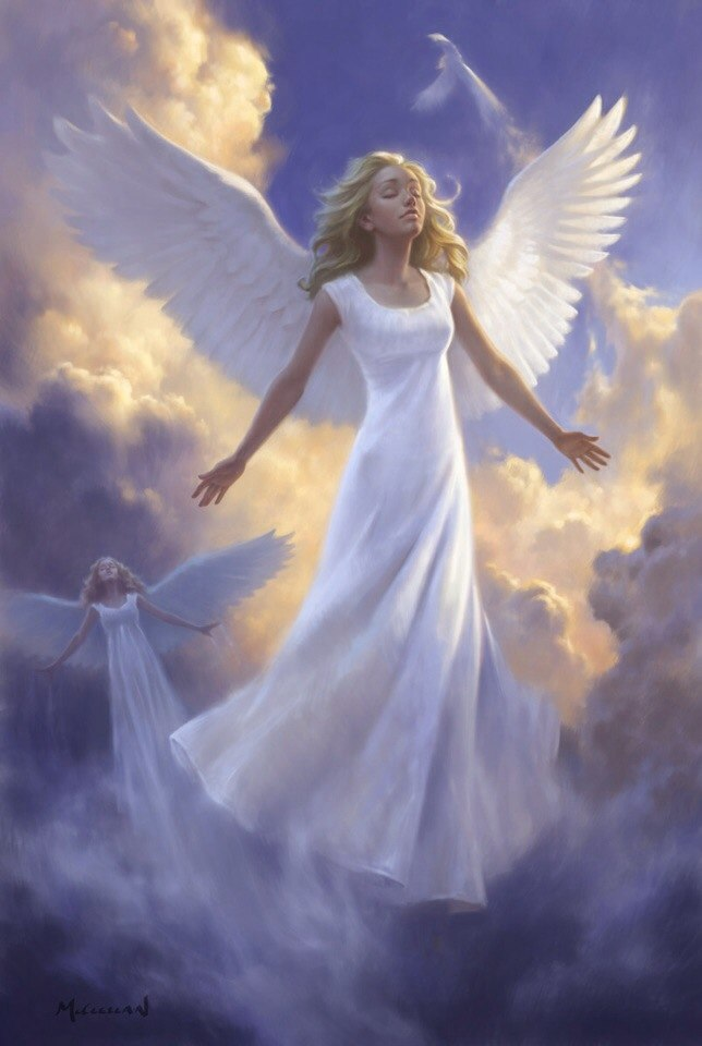 Картинка ангелы, утро картинки