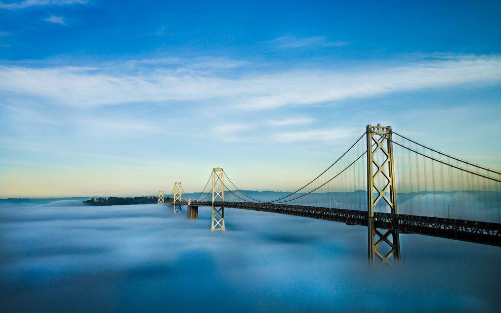 Фото Мост над облаками