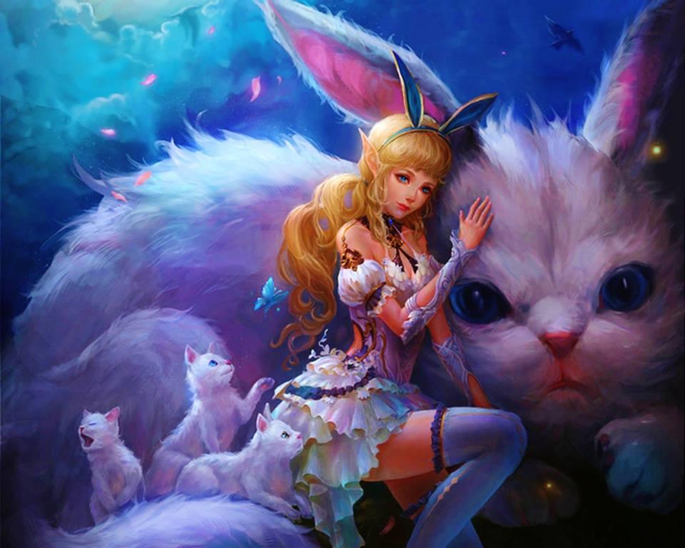 кролики фэнтези картинки пройдут форме