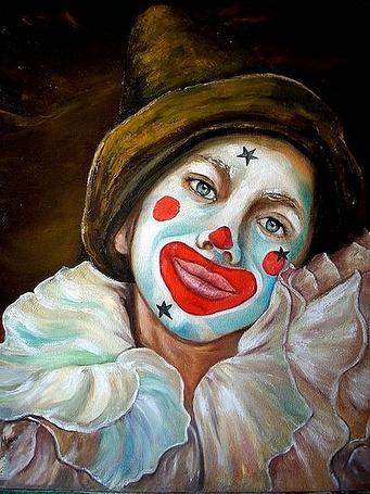 Девушка с улыбкой рисунок