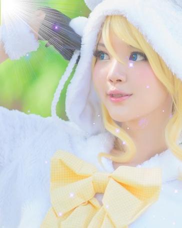 Фото Косплей Эри Аясе / Eri Ayase из аниме Любовный эфир! - Проект школьный идол я / Love Live! - School Idol Project