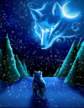 Фото волка и волчицы - 1