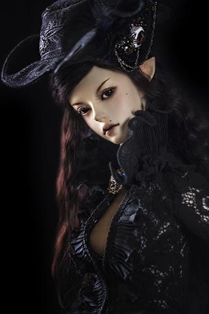 Фото Девушка кукла эльфийка