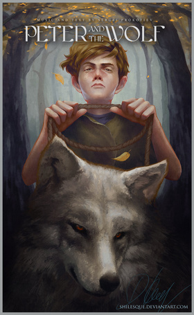 Фото Peter and the Wolf (Петя и волк), by Shilesque