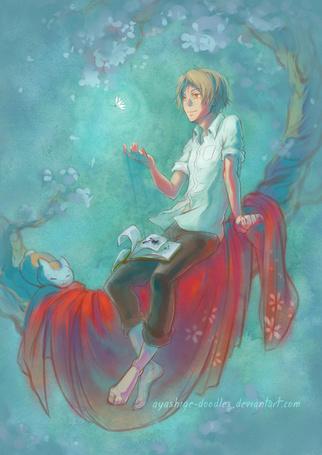 ���� Natsume Takashi / ������ ������ � Nyanko-sensei / �����-������ �� ����� Natsume�s Book of Friends / Natsume Yuujinchou / ������� ������ ������ (� chucha), ���������: 28.04.2015 00:03