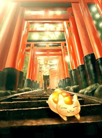 ���� Natsume Takashi / ������ ������ � Nyanko-sensei / �����-������ �� ����� Natsume�s Book of Friends / Natsume Yuujinchou / ������� ������ ������ (� chucha), ���������: 28.04.2015 00:08
