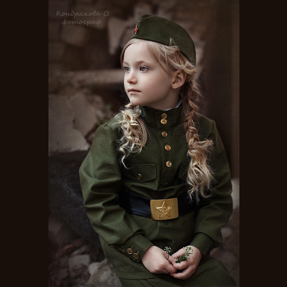 фотосессии в военной форме великой отечественной одной