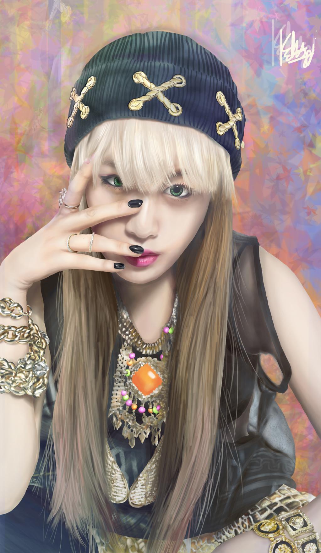 Фото Светловолосая девушка в шапке и украшениях, певица ...: http://photo.99px.ru/photos/202344/