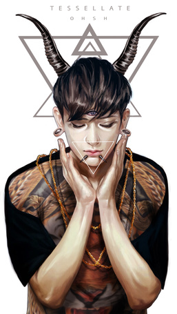 Фото Хуан Цзы Тао / Huang Zi Tao / Тао участник южно-корейской-китайской группы EXO (T E S S E L A T E)