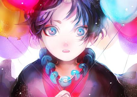 Фото Маленький Хозуки / Hoozuki из аниме Хладнокровный Хозуки / Hoozuki no Reitetsu