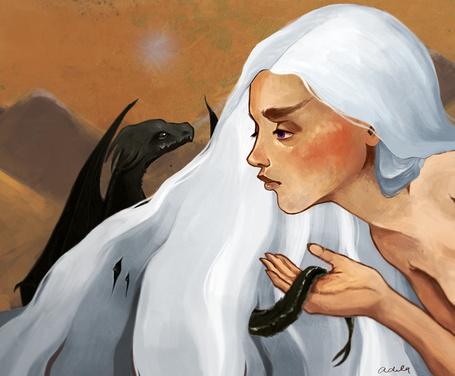 Фото Дейенерис Таргариен / Daenerys Targaryen из сериала Игра престолов / Game of Thrones