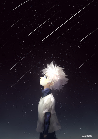 ���� ������ ������� / Killua Zoldyck �� ����� ������ � ������ / ������� � ������� / Hunter X Hunter (� chucha), ���������: 27.05.2015 00:03