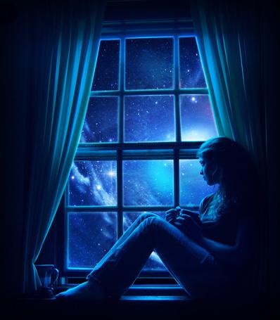 натуральным девушки у окна фото эти