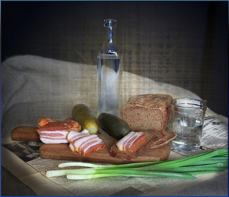 Картинки самогон и закуска