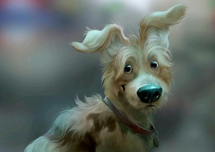 Прикольные картинки на аву с собаками, открытки