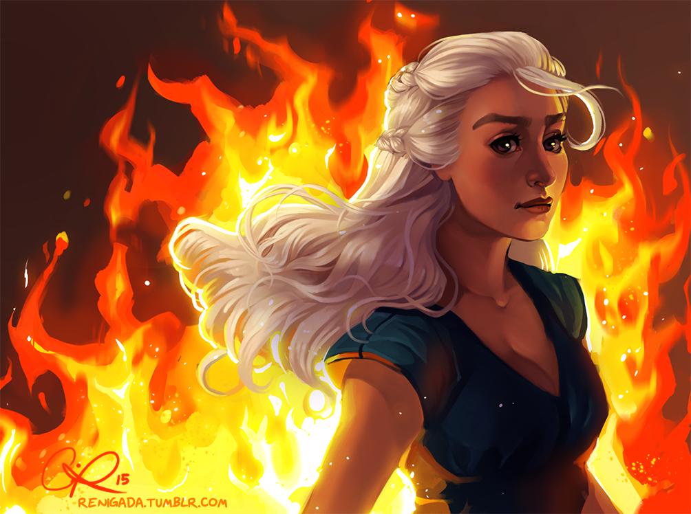 Фото Дейенерис Таргариен / Daenerys Targaryen из сериала Игра престолов / Game of Thrones, by CPatten