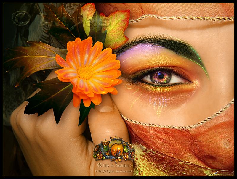 Словами спасибо, открытка женские глаза