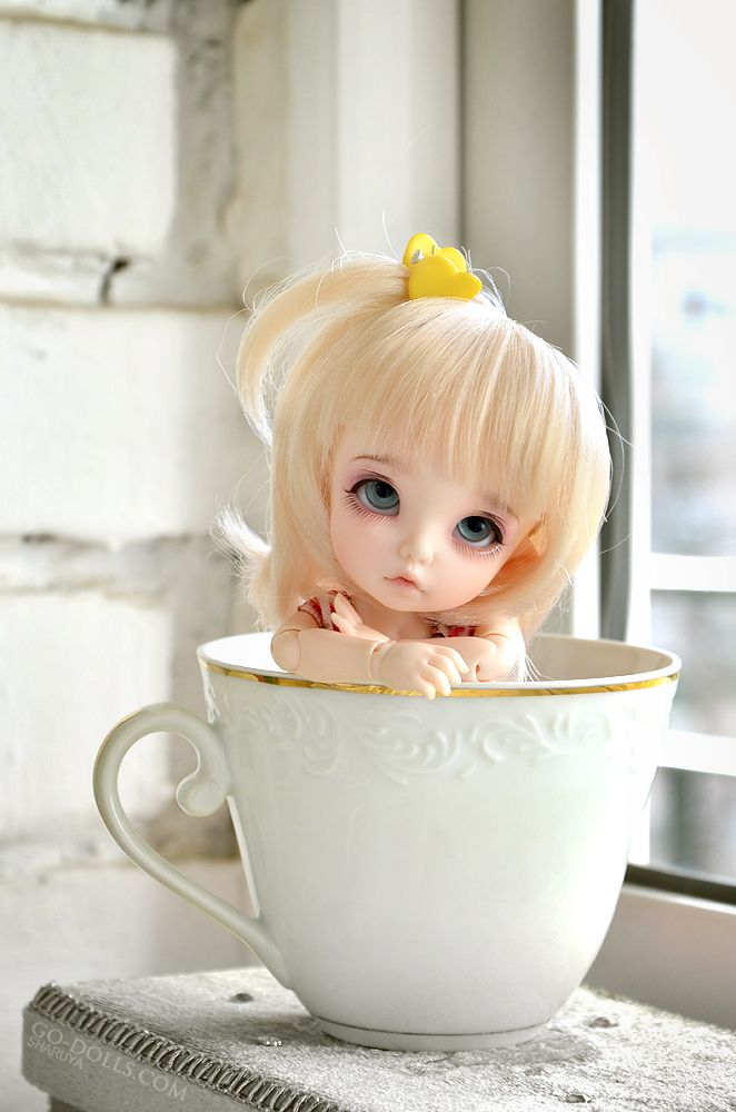 Картинки пожелание доброе утро кукольные