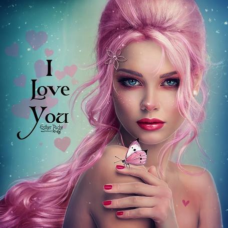 ���� ������� � �������� �� ������, I love You / � ����� ����, by EstherPuche-Art (� zmeiy), ���������: 01.06.2015 22:07