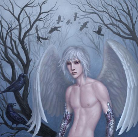Фото Белокурый ангел, art by marurenai