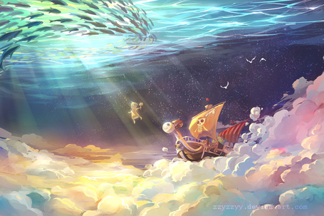 ���� ������� ������� ������� �� ����� ��� ��� / One Piece ������ ����� �������, ��� ��� ����������� ����, � ������� ������� ����, art by zzyzzyy (� chucha), ���������: 09.06.2015 10:44