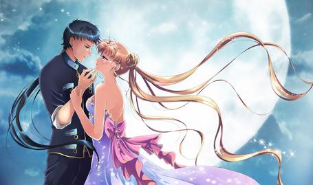 Фото Seiya Коу и Усаги Цукино герои из аниме Сейлормун, by Rurutia8