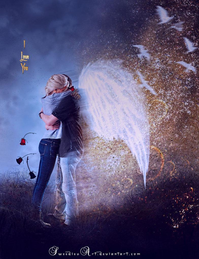 Картинки любовь ангельская