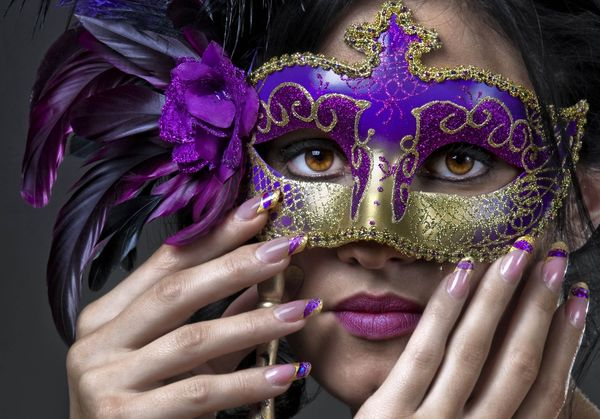 photo of girls with mask № 22498