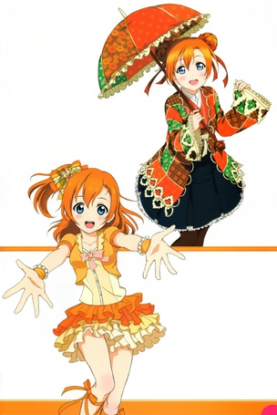 ���� �������������� Honoka Kosaka � �������� �� ����� Love live, School idol projeck, art Nao (� Romi), ���������: 02.07.2015 19:16
