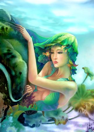 Фото Работа Earth Goddesses / Богиня Земли, by ninejear