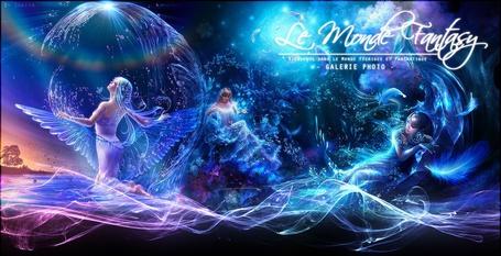 Фото Девушки-ангелы над водой, ву Shu Mizoguchi