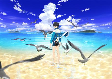 Фото Nanase Haruka / Нанасе Харука из аниме Free! / Вольный стиль