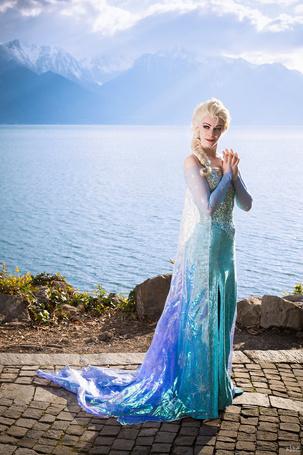 ���� ����� / Elsa ������� �� ����������� �������� ������ / Frozen, by kn8e (� Arinka jini), ���������: 27.07.2015 01:15