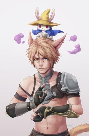 ���� ������ ���� miqote / ������ � �������� �� ������, ��� � ���� Final Fantasy XIV / ��������� �������� XlV (� ColniwKo), ���������: 27.07.2015 12:37