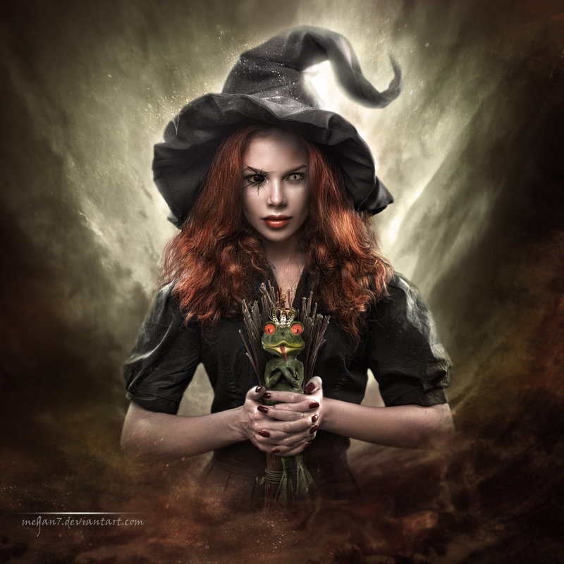 Фото с ведьмами красивые