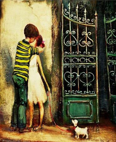 Фото Первый поцелуй. Автор: Ладо Тевдорадзе