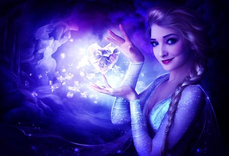 ���� ������� �� ����� / Elsa �� ����������� �������� ������ / Frozen, by ElenaDudina (� svetla4ok), ���������: 13.08.2015 10:22
