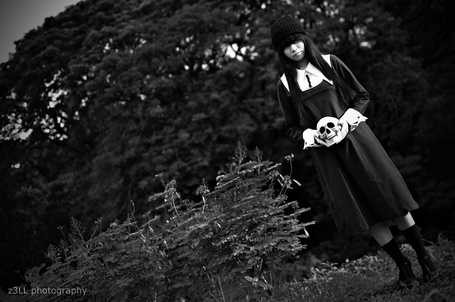 Фото Косплей Sunako Nakahara / Сунако Накахара из аниме Семь обличий Ямато Надесико / Yamato Nadeshiko Shichi Henge