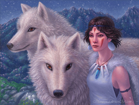 ���� Princess Mononoke / ��������� �������� � �������, by Marurenai (� Arinka jini), ���������: 31.08.2015 01:14