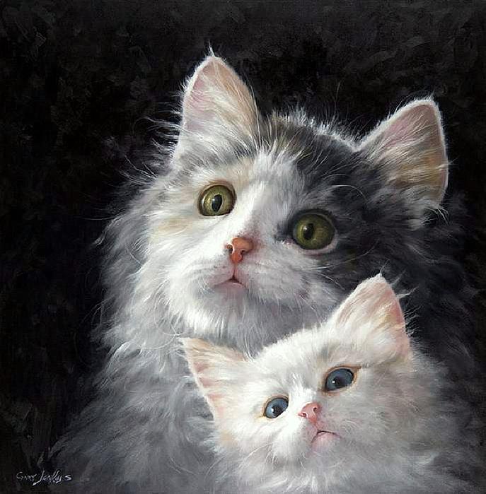 Днем лучшей, открытки кошек и котят