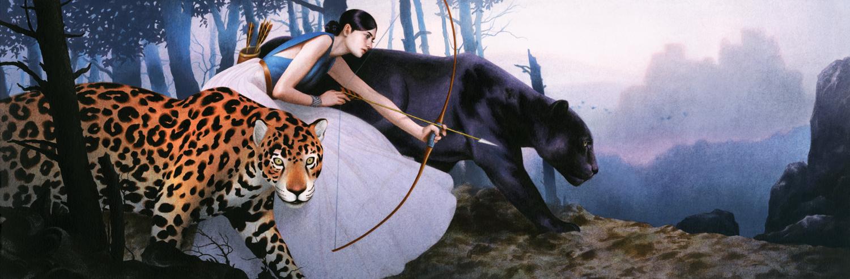 Картинки пантера девушка