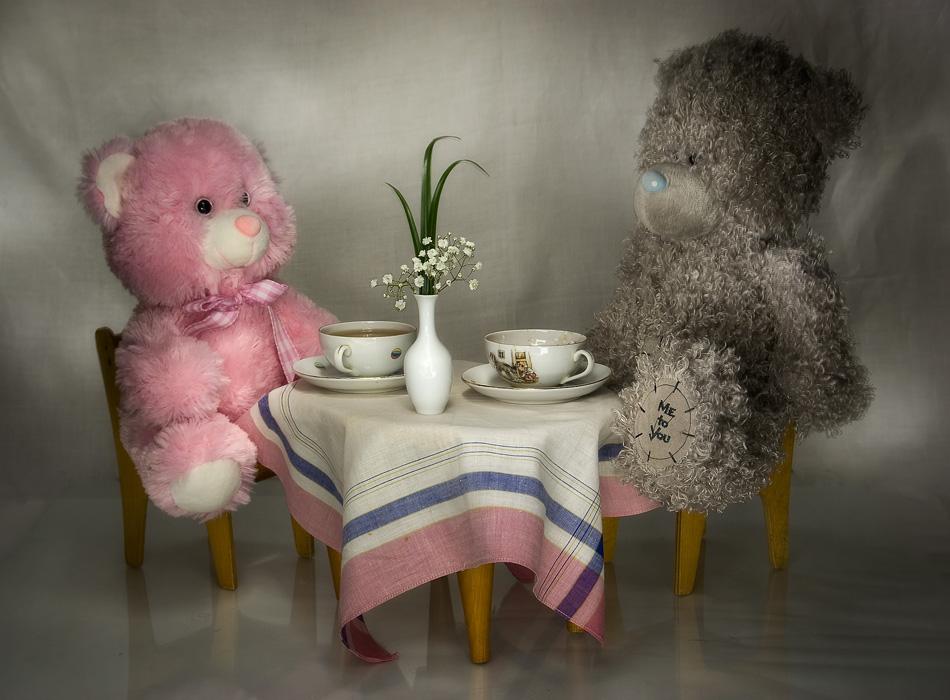 картинки мишек с чаем приморском крае