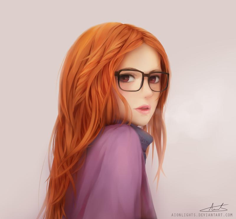 Девушка фото рыжеволосая