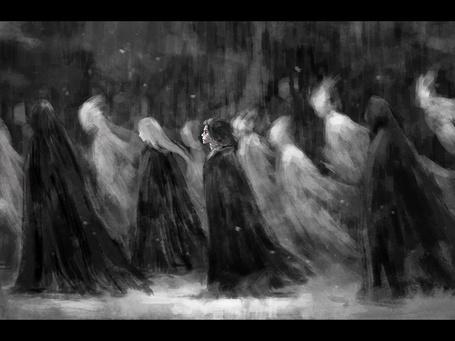 Фото Четверо жнецов смерти и призраки, art by NanFe