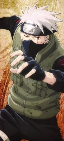Фото Какаши Хатаке / Kakashi Hatake из аниме Наруто / Naruto