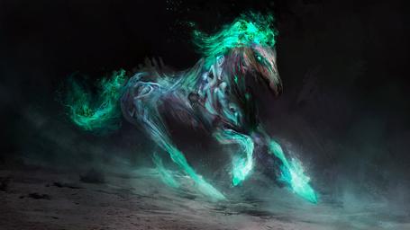 Фото Фантастическая лошадь, художник Daniel Kamarudin
