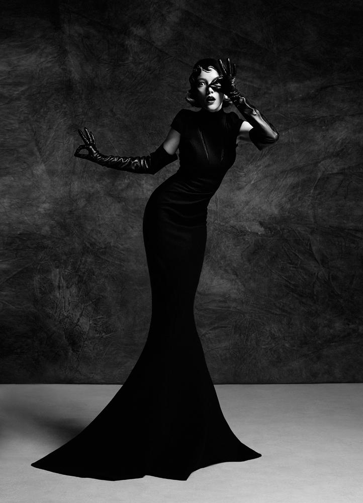 Картинки дама в черном